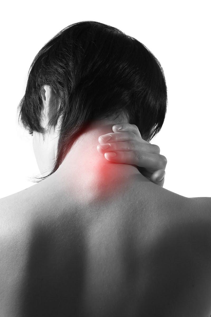 Le traitement d'un mal au cou